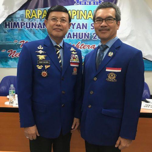 Dr. Ir. Andi Tamsil, M.Si Menghadiri Rapat Pimpinan DPP HNSI di Jakarta
