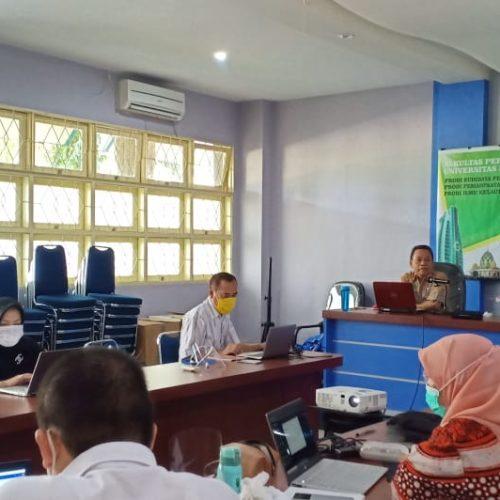Pelatihan Pembelajaran Daring Dosen Prodi BDP FPIK UMI oleh TIM PSMF FPIK UMI